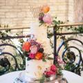 Birthday three tiered cake