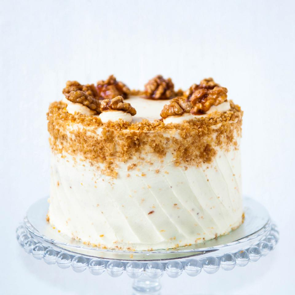 "Buy 8"" carrot walnut cake online £65.00 delivered Crouch End, London"