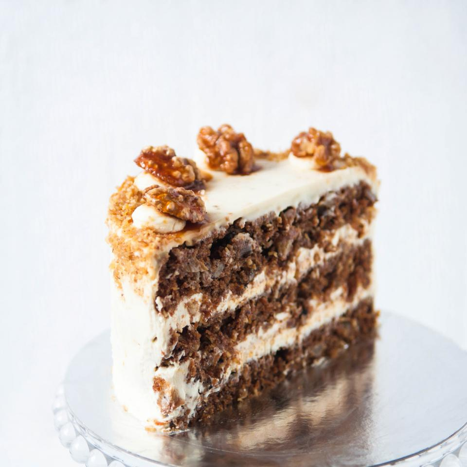Carrot walnut cake buy online home delivery in London