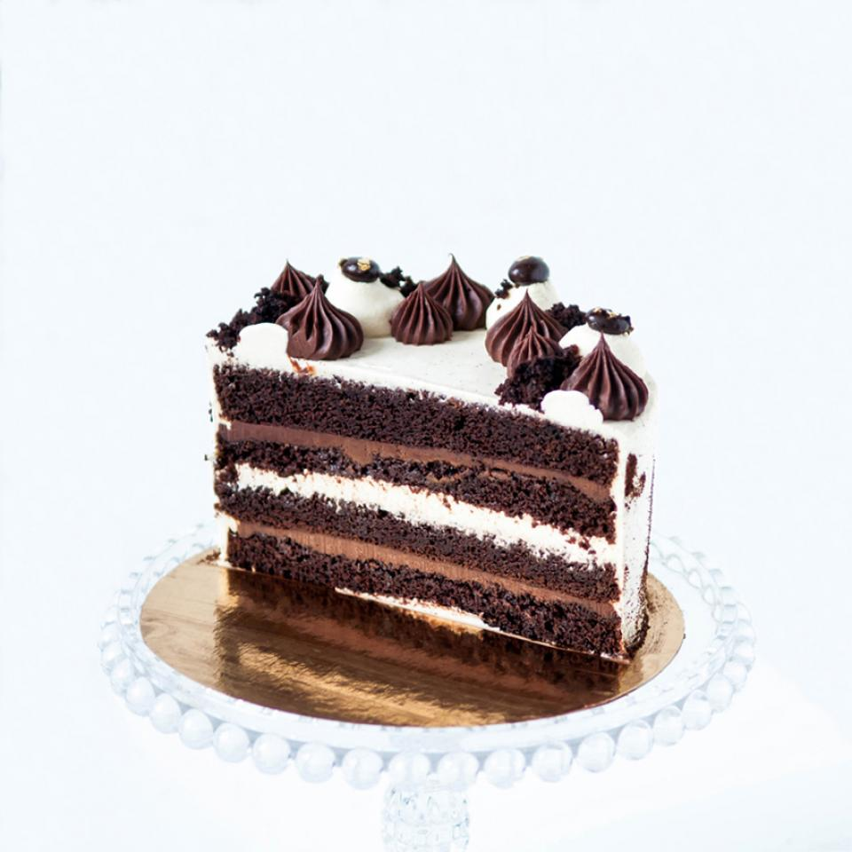 Celebration chocolate Irish coffee cake order online delivered in London