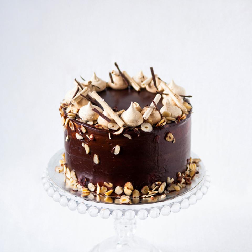 Hazelnut cake buy online delivery to Highgate, Mayfair