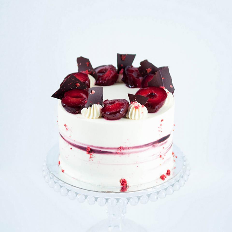 Plum amaretto almond cake bakery near me Kensington