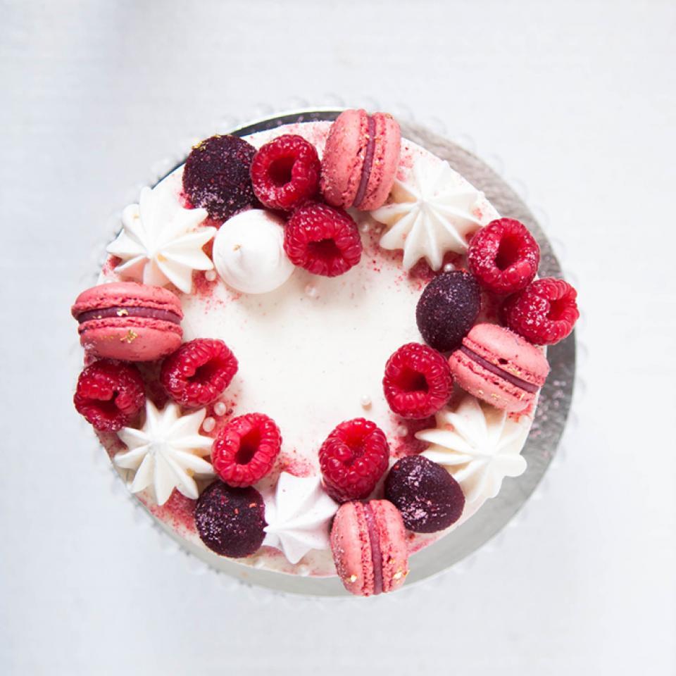 "Celebration Red velvet cake in 6"", 8"", 10"" buy online London home delivery"