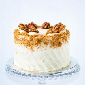 "Buy 6"" carrot walnut cake online £45.00 delivered Finchley, London"