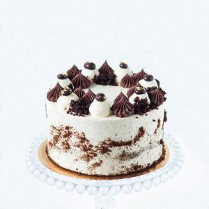 "Chocolate Irish coffee cake 6"" buy online £50.00 delivery in London"